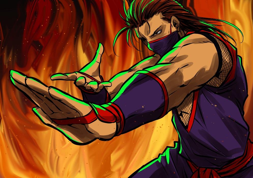 Tora-Shiro, pensant être discret en ninja...
